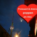 Erotica Berlin - Sexkino mit Videokabinen, Live-Strips und Sex mit den Tänzerinnen in Berlin Mitte in der Nähe der Volksbühne