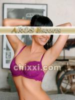 Alina, 29 Jahre alt mit schwarzen Haaren und BH 75 C - Kategorie: Callgirls und Escort aus Nürnberg (AROS Escort)
