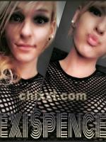 TS Lexi Spencer, 27 Jahre alt mit blonden Haaren - Kategorie: privates Shemale aus Berlin