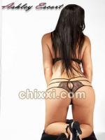 Lea Beck, 30 Jahre alt mit schwarzen Haaren und BH 80 E - Kategorie: Callgirls und Escort aus Frankfurt (Ashley Escort)