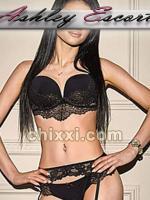 Franziska Schubert, 26 Jahre alt mit schwarzen Haaren und BH 75 C - Kategorie: Callgirls und Escort aus Frankfurt (Ashley Escort)