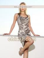 Scarlett Schaub, 27 Jahre alt mit blonden Haaren und BH 75DD - Kategorie: Callgirls und Escort aus München (BB-escort)